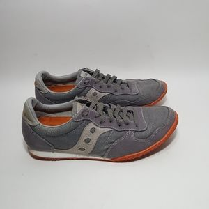 Saucony Sneakers Casual Gray and Orange US 10